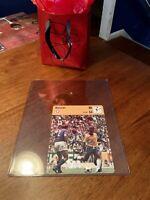 PSA Ready Pele 1977 Sportscaster Soccer Card #01-17 Italy