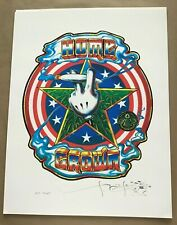 SIGNED By STANLEY MOUSE- 'HOME GROWN' FINE ART PRINT 17 x 22 TEST PRINT
