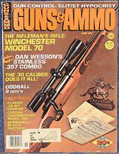 Vintage Magazine GUNS & AMMO June 1983 !!! WINCHESTER Model 70 RIFLE !!!