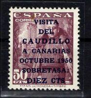 D136560/ SPAIN / Y&T # 806A MINT MNH CERTIFICATE CV 275 $