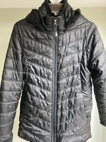 The North Face Black Puffer Hooded Jacket Zip Up Girls XL