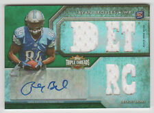 RYAN BROYLES 2012 Topps Triple Threads EMERALD AUTOGRAPH JSY SP RC AUTO #23/50