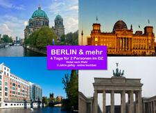 ‱BERLIN z.B+mehr TOP Kurztrip 4 Tage zu zweit z.B. im 4* Hotel - 2 Jahre gültig