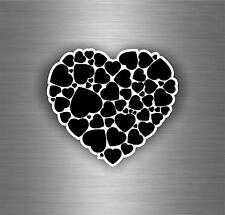 Sticker adesivi adesivo tuning auto moto bomb jdm scooter biker amore cuore