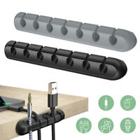 Essager Cable Organizer USB Cable Wire Holder Mouse Earphone Cord Winder Clip
