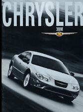 2001 Chrysler 300 300M German Text 28-page Original Car Sales Brochure Prospekt