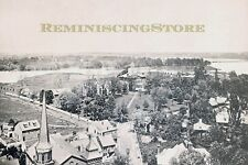 """Annapolis MD """" BIRDS-EYE VIEW OF ST JOHN'S COLLEGE """" © 1896 reprint Vintage Phot"""