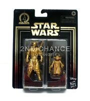 Star Wars Skywalker Saga Darth Maul & Yoda Gold Commemorative Edition Figure