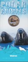2013 $1 UNC Uncirculated Coin Polar Animals Walrus