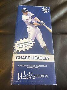 NEW 2010 SGA Collectible Chase Headley San Diego Padres MLB Bobblehead Baseball