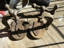 Paragon Shoe Sole press Shoe repair Cobbler shoe maker equipment Antique
