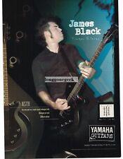 2004 YAMAHA AES270 Electric Guitar JOHN BLACK of Finger Eleven Vtg Print Ad