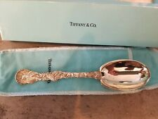 Tiffany & Co Sterling Holiday Turkey Harvest Cranberry Serving Spoon w/Orig Box!