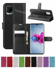 Leather slot wallet stand flip Cover Skin Case For ZTE Axon 11 5G