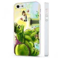El disfraz de Hulk Super Mario Nintendo Marvel Funda de teléfono blanco encaja iPHONE