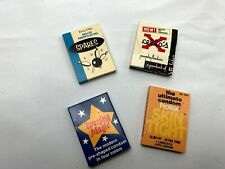 Set of Four Vintage Condom Packs (Great Advertising Items)