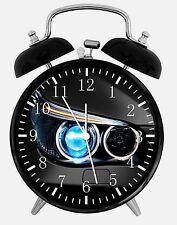 "BMW Headlight Alarm Desk Clock 3.75"" Home or Office Decor Z36 Nice For Gift"