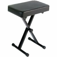 Yamaha PKBB1 Portable Piano Keyboard Adjustable Pad Bench Folding Stool Chair