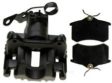 Disc Brake Caliper-Non-Coated, Loaded with Semi-Metallic Pads Rear Right Reman