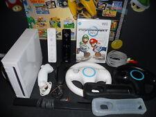 NINTENDO Wii EINSTEIGERSET FÜR 2 SPIELER + MARIO KART | GARANTIE VOM HÄNDLER |
