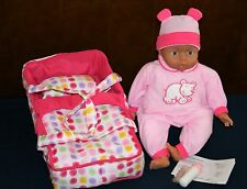 NEW LISSI Interactive Doll w/Travel Cot And Accessories