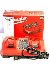 Milwaukee 48-59-1802 M18™ Dual Bay Simultaneous Rapid Charger - NEW SEALED