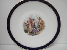 Heinrich Selb Collectors Plate with Cupid and Three Ladies
