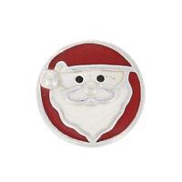 NEW Authentic Pandora Jolly Santa Petite Locket Charm Ster Christmas 792168ENMX