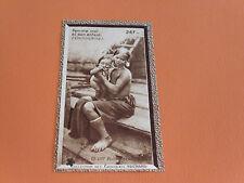 CHROMO PHOTO SUCHARD 1930 COLONIES INDOCHINE COCHINCHINE FEMME MOÏ ET ENFANT