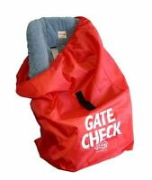 JL Childress Gate Check Bag for Car Seats, Red , New, Free Shipping