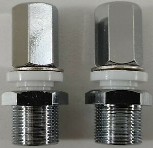 Lot of 2 Workman SM1 Heavy Duty SO-239 CB HAM Radio Antenna Stud Mount 3/8x24