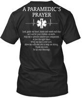 Paramedic A Paramedics Prayer - Paramedic's Lord Guide My Premium Tee T-Shirt