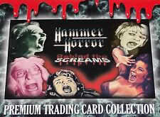 Hammer Horror Rare 'Behind the Screams' Selection of Chase Trading Cards