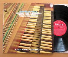Philips 65 05 001 Falla Concierto Para Clavicembalo etc Rafael Puyana NEAR MINT