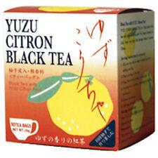 Tea Boutique Yuzu Citrus Black Tea 2g x 10 Packs Made in Japan