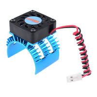 Motor Heat Sink and Cooling Fan Set for 1/10 HSP RC Car Truck Buggy Parts B