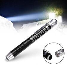 Black Super Bright Waterproof 1000Lumen Led Flashlight Torch Pocket Penlight Pen