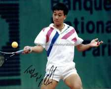 Michael Chang Autograph *Tennis* Hand Signed 10x8 Photo