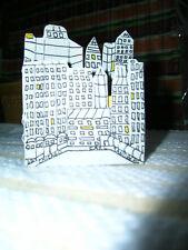 Chicago by Carl Sandburg 1993 Twin Heart Press Miniature Book Chicago Skyline!