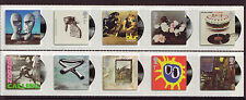 GREAT BRITAIN 2010 ALBUM COVERS SET 10 SELF ADHESIVE UNMOUNTED MINT, MNH