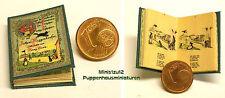 1016# Miniaturbuch - Folgen der Zwietracht - Puppenhaus - Puppenstube - M 1zu12