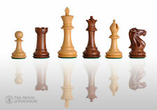 "The Congress Chess Set - Pieces Only - 3.75"" King - Golden Rosewood"