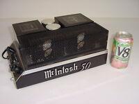 Vintage Original 1969 McIntosh MC50 MC 50 Mono Monoblock Power Amplifier Amp
