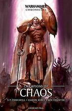 CHAMPIONS OF CHAOS - HINKS, DARIUS/ CAWKWELL, S. P./ COUNTER, BEN - NEW PAPERBAC