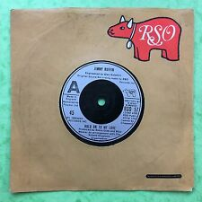 Jimmy Ruffin - Hold On To My Love - RSO Records RSO-57 Ex Condition A1/B1