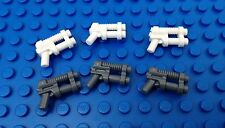 Lego White Dk Grey RAY GUNS Lasers Alien Conquest Space Star Wars City Blasters