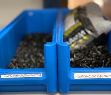 Sapim Nipples Brass Messing Black Polyax 14G 1000 pieces OFFER!