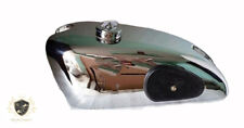 NORTON MANX INTERNATIONAL CHROME FUEL PETROL TANK WITH CAP+ KNEE |Fit For