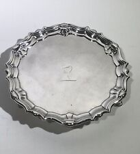 English Sterling Silver Salver Tray