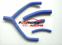 For YAMAHA YZ250 YZ 250 1990-1994 WR250 1991-1993 92 Silicone Radiator Hose blue